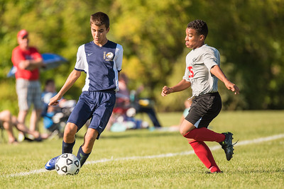Wayne Eagles Modified Boys Soccer - Navy at Geneva 9/20/16