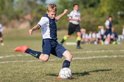 Wayne Eagles Modified Boys Soccer - Navy vs Newark 091616