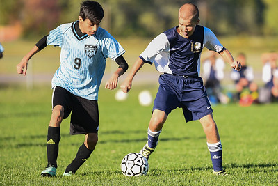 Wayne Eagles Modified Boys Soccer - Navy at Midlakes 10-14-16