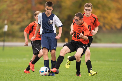 Wayne Eagles Modified Boys Soccer - Navy vs Waterloo 10-17-16
