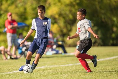 Wayne Eagles Modified Boys Soccer - Navy at Geneva 9/20/16
