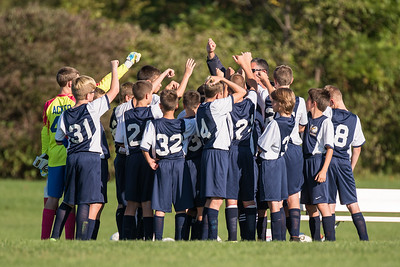 Wayne Eagles Modified Boys Soccer - Navy vs Penn Yan 9-28-16