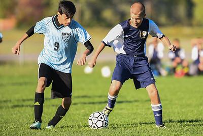 Wayne Eagles Modified Boys Soccer - Navy at Midlakes 10-14-16