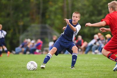 Wayne Eagles Modified Boys Soccer Navy vs Pal Mac 9-30-16