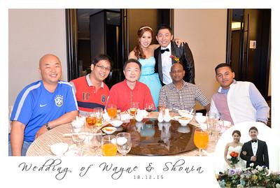 Wayne + Shonia Table Photos
