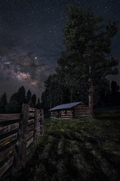 Homestead Under the Stars