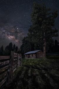 Homestead Under the Stars