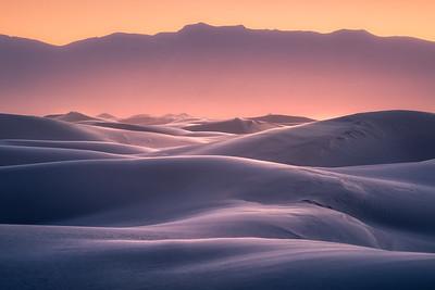 October Alpenglow - White Sands National Park