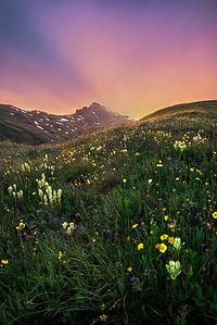 Stony Pass Sunset