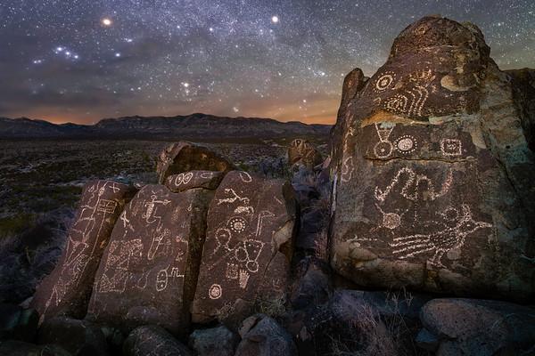 Ancient Art At Midnight