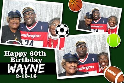 Wayne's 60th Birthday