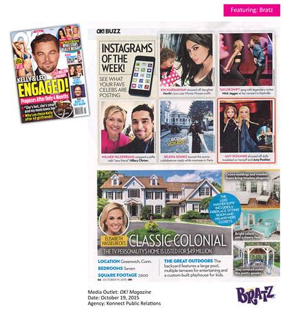 OK Magazine featuring Bratz