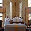 Eucharist begins