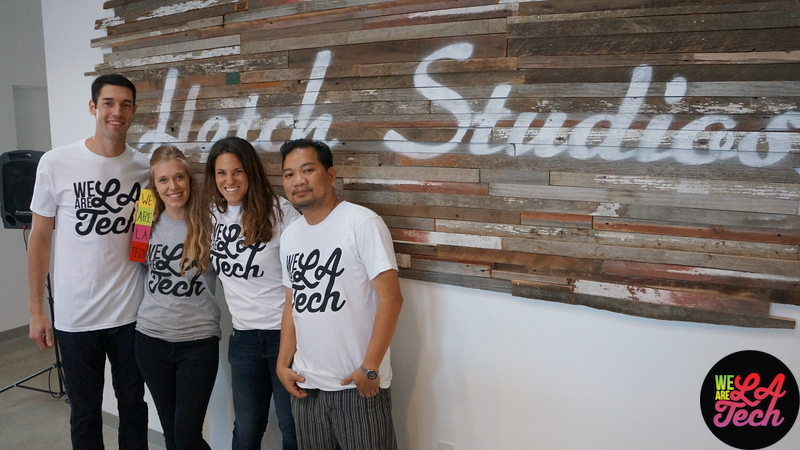 """WeAreLATech Mobile App Launch at Hatch Studios #LATechLaunch <br /> <br /> Photographer: Johnny B Traveling  <a href=""""https://instagram.com/johnnybtraveling"""">https://instagram.com/johnnybtraveling</a>)<br /> <br /> App developed by Ira Herman  <a href=""""http://twitter.com/iraherman"""">http://twitter.com/iraherman</a>) <br /> <br /> Live Performance by US  <a href=""""http://twitter.com/motionhandpro"""">http://twitter.com/motionhandpro</a>)<br /> <br /> Drones powered by Rhubarb Studios (rhubarbstudios.co) <br /> <br /> Meditation by Jeff Chernick at RideAmigos.com<br /> <br /> Drones, Massages, Live Music, Selfie Truck, Valet, Meditation, Coconut Water, Yerba Mate, Wine, Beer, Fruits, Homemade Brownies, Ping Pong and Shuffle Board and so many awesome people!<br /> <br /> WeAreLATech Event Contributors: <br /> <br /> Hatch Studios (thehatchstudios.com)<br /> InMotion Hosting  (inmotionhosting.com)<br /> Phantom Firm  (phantomfirm.com)<br /> Rhubarb Studios (rhubarbstudios.co) <br /> Drizly  (drizly.com)<br /> The Selfie Truck  (theselfietruck.com)<br /> Luxe  (luxe.com)<br /> Instacart  (Instacart.com)<br /> Barney's Beanery  (barneysbeanery.com)<br /> TechZulu  (techzulu.com)<br /> Bertha Mae's Brownies  (berthamaesbrownies.com)<br /> Zico  (zico.com)<br /> Guayaki Yerba Mate  (guayaki.com)<br /> <br /> WeAreLATech community mates:<br /> <br /> Magical community mates helping  make this event come together Karl, Cameron, Jennifer, Raychel, Amanda, Chris M., Yolanda, Dahlia, Zach, Rachel, Andy, Deigo, Chris D., Adam, Johnny, Danielle, Gerald, Laurent, Aviv, Jeff, Cauri, Rebecca, Nick<br /> <br /> <a href=""""https://twitter.com/karlmartyyy"""">https://twitter.com/karlmartyyy</a><br /> <a href=""""https://twitter.com/CamSKashani"""">https://twitter.com/CamSKashani</a><br /> <a href=""""https://twitter.com/jenhchang"""">https://twitter.com/jenhchang</a><br /> <a href=""""https://instagram.com/johnnybtraveling"""">https://instagram.com/johnnybtraveling</a><br /> <a href=""""https://twitter.com/raychelesp"""