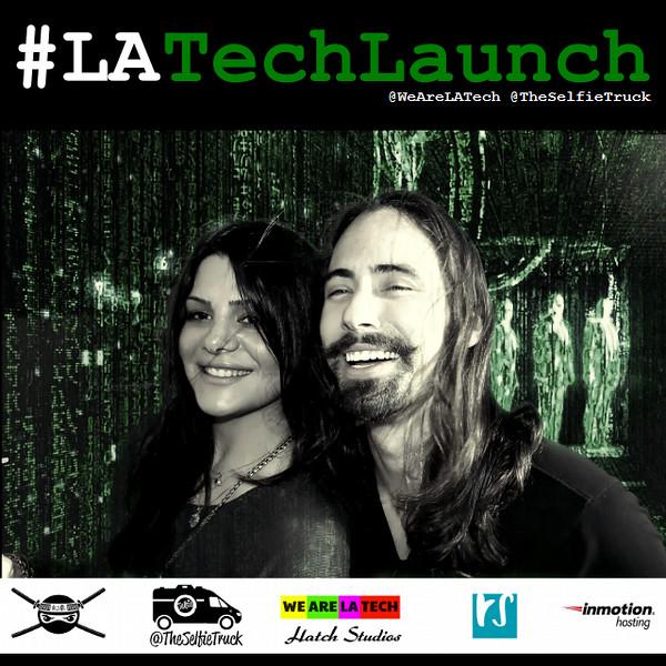 WeAreLATech Mobile App Launch Pics from The Selfie Truck