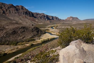 El Camino del Rio: Santana Basin Overlook II