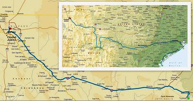 Balmorhea SP to El Paso