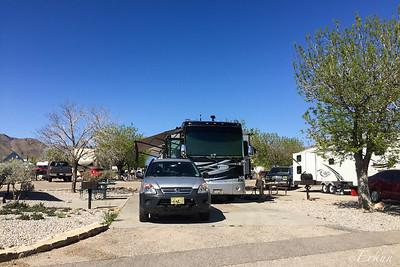 Fort Bliss RV Park Site 124
