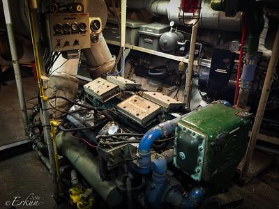 Tall ship Elissa - Engine Room