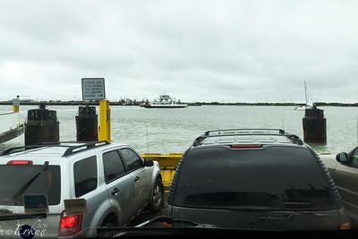 Crossing the Corpus Christi Channel