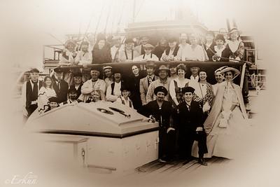 Tall ship Elissa - Captain's Saloon