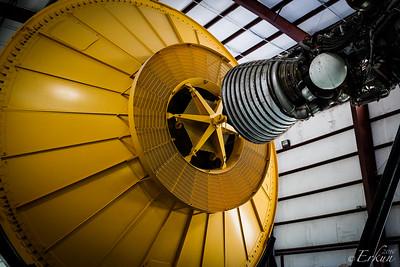 Level 9 Tour - Rocket Park - Saturn V Rocket