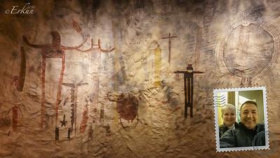 Interpretive Center: Panther Cave Pictographs (replica)