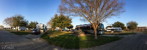 Fort Sam Houston Campground - Panorama