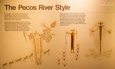 Interpretive Center: Pecos River Style Puctographs