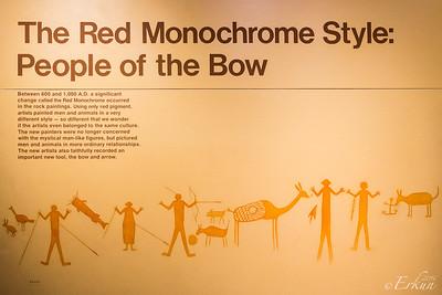 Interpretive Center: The Red Monochrome Style