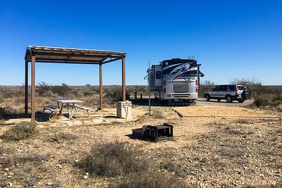 Seminole Canyon Campground - Site 31E