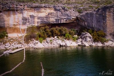Interpretive Center: Panther Cave Pictographs.
