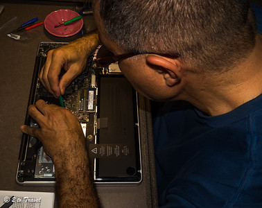 Replacing the DVD drive with additional storage. 9 Jan 2014