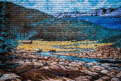 Murals in Old Colorado City - Allen Burton '99