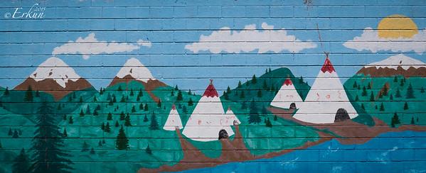 Murals in Old Colorado City - Matt Greco '93