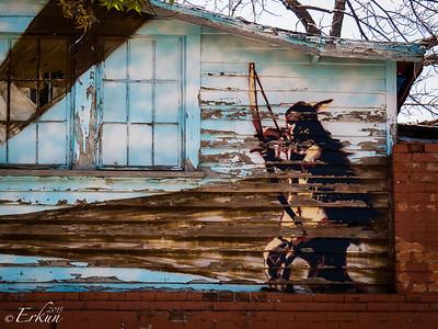 Murals in Old Colorado City