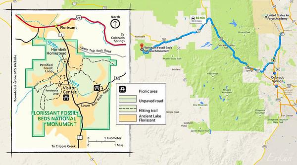 Florissant Fossil beds National Monument - Florissant, CO. 25 Jun 2015