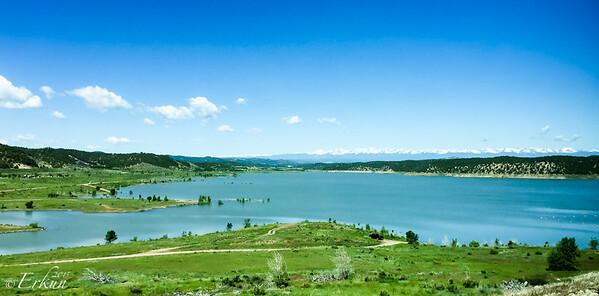 Trinidad Lake State Park to USAF in Colorado Springs. 8-9 Jun 2015