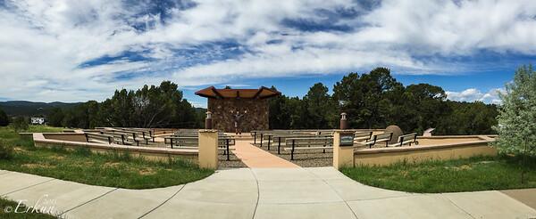 Trinidad State Lake Park - Trinidad, CO. Park View Trail - Amphitheater. 6 Jun 2015