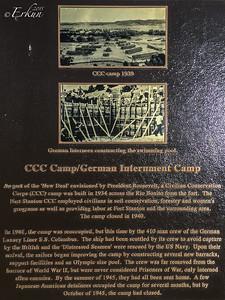 CCC Camp/German Internment Camp