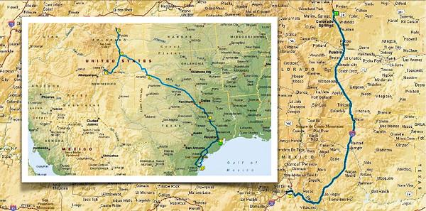 En Route to Santa Fe
