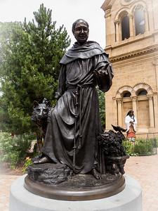 St Francis Cathedral - St Francis of Assisi ... patron saint of Santa Fe.