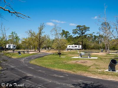 Buccaneer State Park - Long John Silver Loop; loop across from Site 68 Waveland, MS - 1 Apr 2013