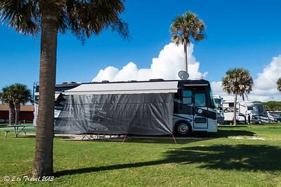 Pelican Roost RV Park - Site 11. NS Mayport, FL - 9 Aug 2013
