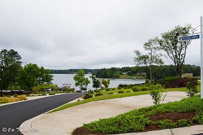 Lake Greenwood Motorcoach Resort - grounds. Cross Hill, SC - 6 Jun 2013