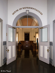 Florida Historic Capitol Museum - House of Repsentatives.  Tallahassee, FL - 2 Jan 2013