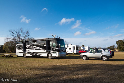 Beaver Lake Campground - Site 6; good for a day or two. Quincy, FL - 1 Jan 2013
