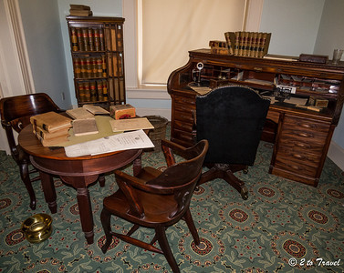 Florida Historic Capitol Museum - Governor Jenkins' private office. Tallahassee, FL - 2 Jan 2013