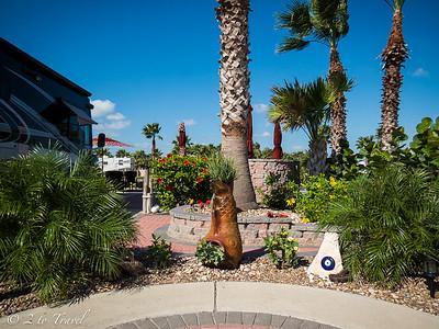 Site 408 - Gulf Waters RVR - Port Aransas, Texas. 22 Oct 2014
