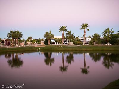 Gulf Waters RV Resort - Site 408. Oct 2014
